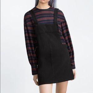 Zara Black Overall Skirt